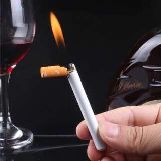 Refillable Butane Gas Jet Flame Lighter Cigarette