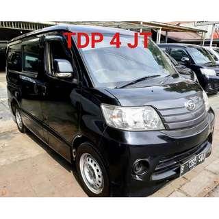 Daihatsu Luxio 1500 th 2014 Tdp 4 jt
