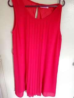 Colours red dress