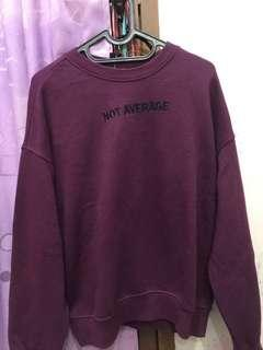 ( NEGO ) H&M Sweatshirt purple