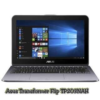 Cash Dan Kredit Laptop Asus Transformer Plip TP203NAH