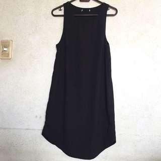 ♡ bershka black dress ♡