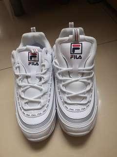 Fila Ray - Tapey tape - white UK 8