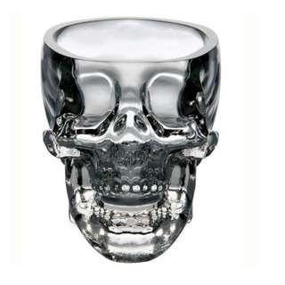 Crystal Skull Head Vodka Whiskey Shot Glass 1x