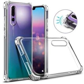 Huawei P20 Pro Anti Shock Full Protection Clear Casing