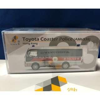 Tiny 微影 03 第四版 Toyota Coaster Police 豐田 警車 警察