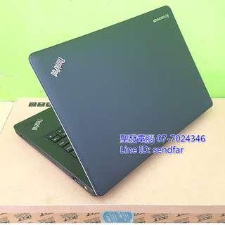 🚚 LENOVO E430 i5-3140M 4G 500G DVD Independent Video Card 14inch laptop ''sendfar second hand'' 聖發二手筆電