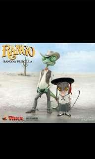 Hot toys Priscilla & RANGO Vinyl Collectible figure set
