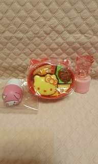 Hello Kitty食玩餐盒2006絕版印台包平郵📮