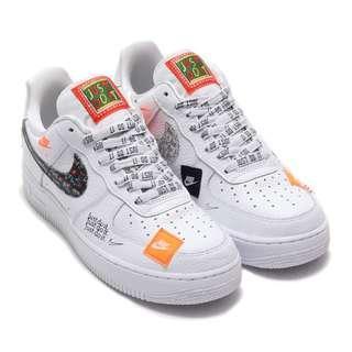 Nike Air Force 1 07 PRM JDI Just Do It
