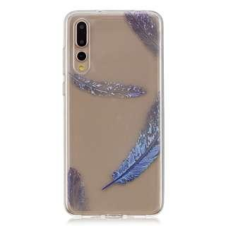 Huawei P20 Pro Feather Design Clear Full Protection Casing