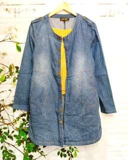 Denim soft dress