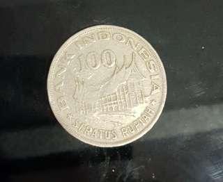 Koin 100 Rupiah Lawas