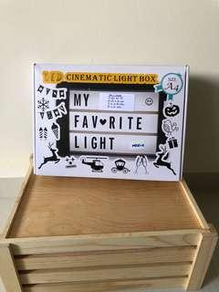 A4 lightbox