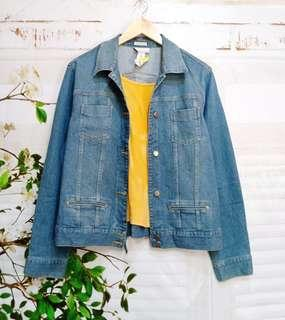 Denim soft jacket