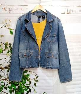 dkny denim blazer /jacket