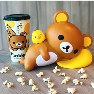 [PO] Rilakkuma Popcorn Bucket Set