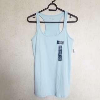 ♡ gap body sky blue tank top ♡