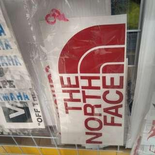Sticker Decal The North Face