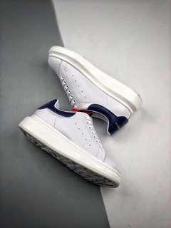 Alexander McQueen Oversized Sneakers 'White / Navy / Red'