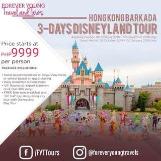 Hong Kong with Disneyland Barkada Package