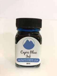 Monteverde Fountain Pen Ink Capri Blue 30ml