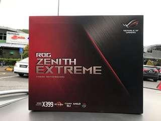 Asus Zenith Extreme & AMD 1950X Threadripper