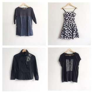 Bundle tops and dress