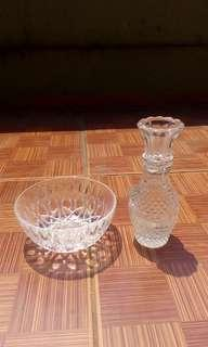 Vas&mangkuk Kristal Bohemia
