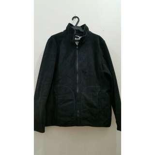 BOSSINI Black Suede Jacket