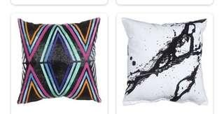 cushion with wool