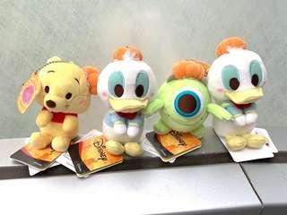 Disney Donald Duck Winnie the pooh大眼仔 維尼熊 唐老鴨公仔 特別版