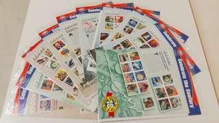 美國郵票 紀念票 全套10版