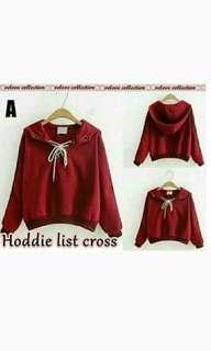 Sweater Hoddie Red