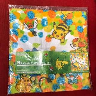 Pokemon pikachu 比卡超毛巾