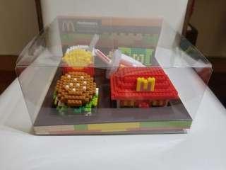 McDonald's Food Icons × nano block