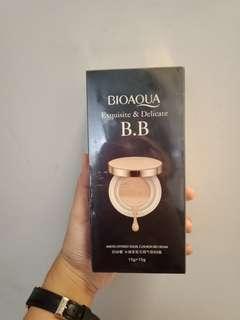 Bioaqua exquisite & delicate BB gold cushion + refill