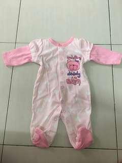 Baby Girl Sleepsuit