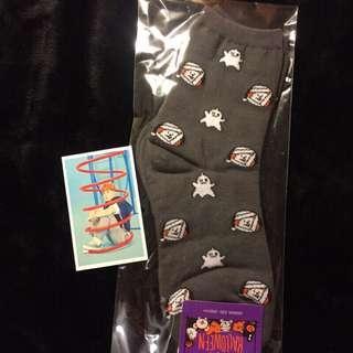 🚚 ✨現貨在台✨韓國帶回🎃BT21 萬聖節 限定👻Halloween 襪子 chimmy 防彈少年團 BTS