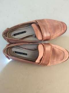 Leather Loafers Zara
