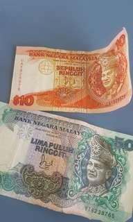 Old Malaysia note