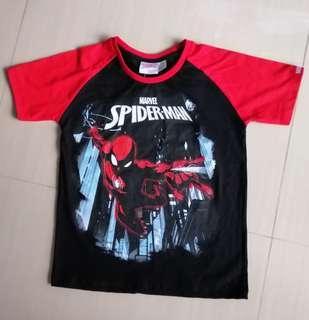 Marvel Spiderman Glow In the Dark Tshirt