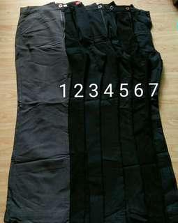 Preloved Womens Black Slacks (50 Each)