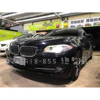 BMW 2010/11  523I F10 月付12000