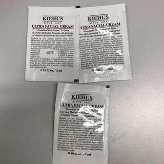 Kiehl's 特效保濕乳霜3ml x3