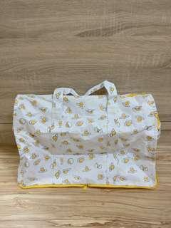 95%新 台灣直送 Gudetama 雞蛋哥 懶懶蛋 旅行袋 行李袋