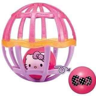 日本 KITTY玩具球
