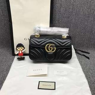 💯% Authentic Brand New Gucci Marmont 22cm
