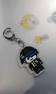 Danganronpa Shuichi Acrylic Keychain