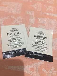 Alessandro hand spa cream